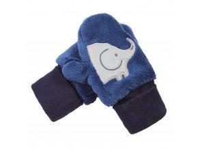 Rukavice s palcem MAZLÍK Outlast® - modrá (Velikost 1)