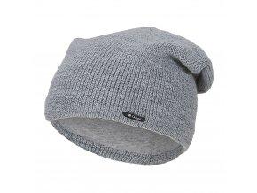 Čepice pletená UNI Outlast ® - sv.šedá (Velikost 4 | 45-48 cm)