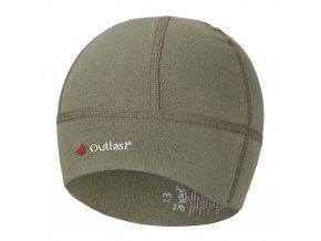 Čepice smyk BABY Outlast® - khaki army (Velikost 3 | 42-44 cm)