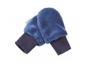 Rukavice bez palce MAZLÍK Outlast® - modrá (Velikost 1)