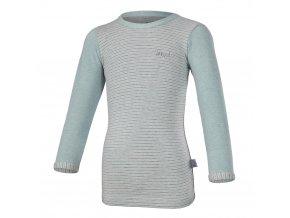 Tričko smyk DR Outlast® - lišejník melír/pruh (Velikost 110)