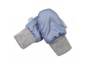 Rukavice bez palce prošev Outlast® - ocelově modrá (Velikost 1)