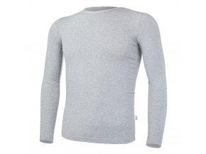 Tričko tenké DR Outlast® - šedý melír (Velikost 134)