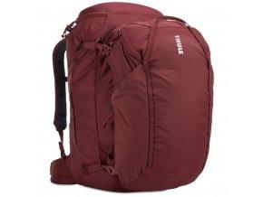 Thule Landmark batoh 60L pro ženy TLPF160 - tmavě červený  Expediční batoh