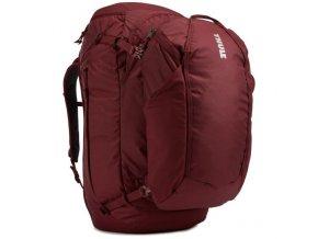 Thule Landmark batoh 70L pro ženy TLPF170 - tmavě červený  Expediční batoh
