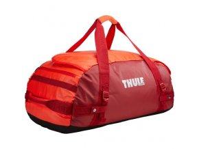Thule Chasm 70 l cestovní taška CHASM70RO - oranžová/červená  Cestovní taška