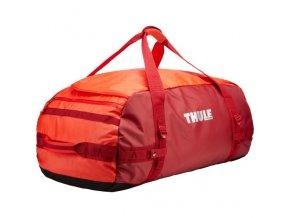 Thule Chasm 90 l cestovní taška CHASM90RO - oranžová/červená  Cestovní taška