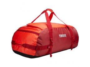 Thule Chasm 130 l cestovní taška CHASM130RO - oranžová/červená  Cestovní taška