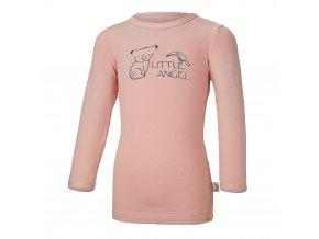 Tričko smyk KOALA Outlast® - pudrová (Velikost 86)