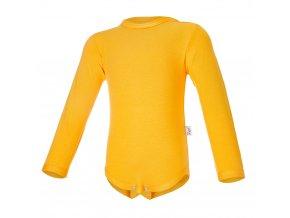 Body tenké DR Outlast® - žlutooranžová (Velikost 74)