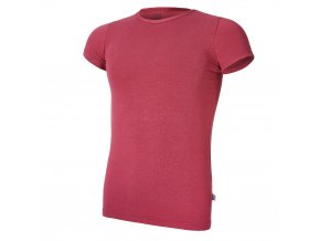 Tričko tenké KR Outlast® - bordová (Velikost 134)