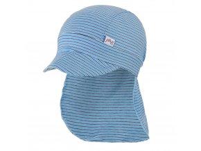 Kšiltovka tenká pirát pruh Outlast® - pruh sv.modrý úzký (Velikost 2   39-41 cm)