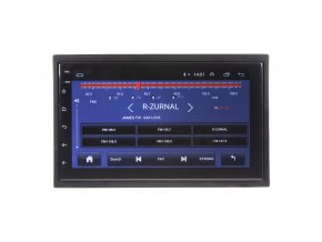 "2DIN autorádio s 7"" LCD, Android 8.1, WI-FI, GPS, Mirror link, Bluetooth, 2x USB"