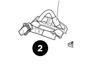 1500052959 Rear Wheel Holder Assembly
