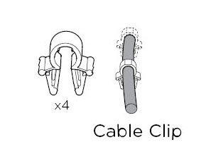 1500052540 Cable Clip