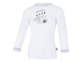 Tričko smyk SAFARI DR Outlast® - bílá/safari (Velikost 86)