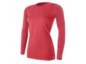 Tričko dámské DR tenké Outlast® - bordová (Velikost S)