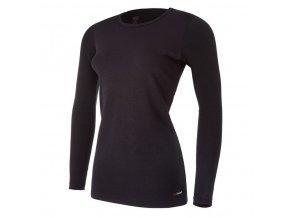 Tričko dámské DR tenké Outlast® - černá (Velikost S)