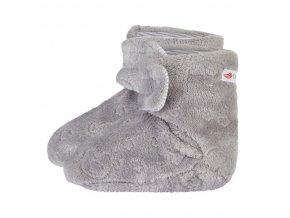 Bačkorky MAZLÍK Outlast® - šedá slon (Velikost 1)