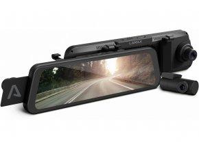 LAMAX S9 Dual  Celodisplejová zrcátková kamera
