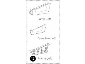 1500052370 Lamp frame L