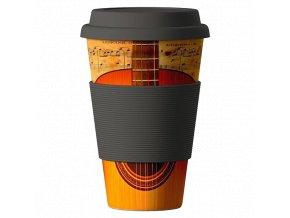 Bamboo Cup ekologický termohrnek 400ml – Guitar