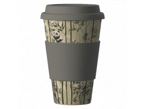 Bamboo Cup ekologický termohrnek 400ml – Panda