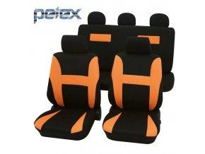PETEX Autopotahy UNI NEON oranžové