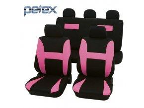 PETEX Autopotahy UNI NEON růžové