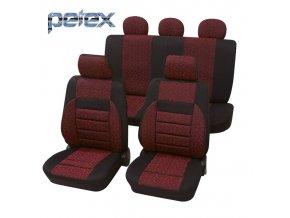 PETEX Autopotahy UNI RELAX červené