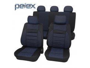 PETEX Autopotahy UNI RELAX modré