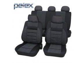 PETEX Autopotahy UNI RELAX šedé
