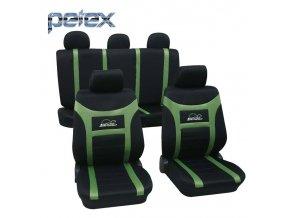 PETEX Autopotahy UNI SUPER SPEED zelená