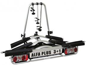 Nosič jízdních kol Wjenzek Alfa PLUS 3+1 (sklopný)