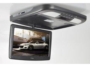 """Stropní monitor 11,6"""" černý s DVD/SD/USB/HDMI"""