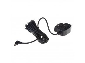 Kabeláž pro napájení DVR kamery z OBD konektoru na miniUSB