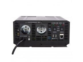 Autonabíječka 12V/10A + měnič sinus 600W 12/230V, UPS