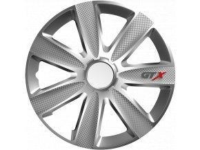 """Kryty kol - poklice GTX 15"""" Carbon Silver"""