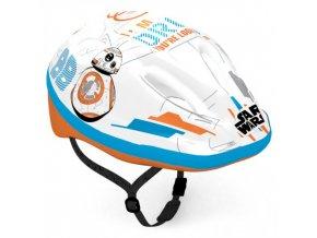DĚTSKÁ cyklo přilba star wars BB-8 59033
