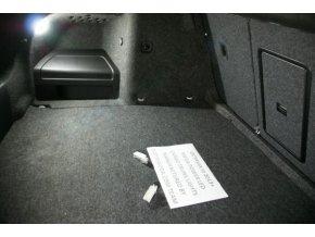 Škoda Rapid - Led osvětlení zavazadlového prostoru