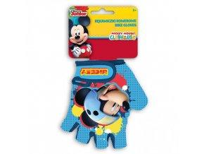RUKAVICE na kolo pro děti mickey mouse 59016
