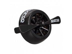 OSVĚŽOVAČ VZDUCHU sparco turbine black ice 69514