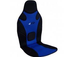 PODLOŽKA NA SEDADLO 4car modro-černá 90-06