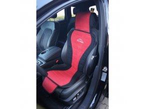 PODLOŽKA NA SEDADLO carcomfort červená 90-08