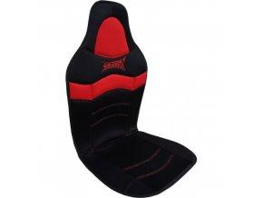 PODLOŽKA NA SEDADLO sport červeno-černá 90-01