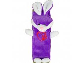 POTAH BEZPEČNOSTNÍHO PÁSU králíček fialový 92-00