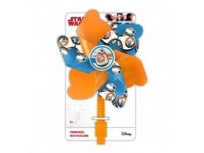 Větrník na řidítka star wars BB-8 59123