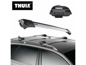 Thule WingBar Edge 958 - stříbrná