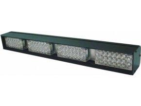 x LED světelná alej, 88x LED 5mm, modrá 370mm