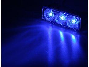 PREDATOR LED vnější, 12x LED 1W, 12V, modrý
